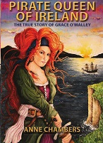 Pirate Queen of Ireland: the Adventures of Grace O'Malley available from Amazon in both Kindle & Paperback